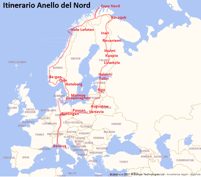 Nord Europa - Dreamers On The Road